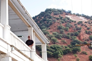 My hang in Bisbee (photo by Laurel Parrott)