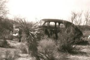 Another view of my grandfather's car.